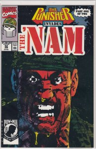 THE NAM #52  THE PUNISHER APP. PART 1 OF 2