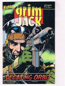 Grim Jack #14 VF First Comics Comic Book Ostrander Sept 85 DE41 AD18