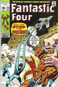 Fantastic Four #114 (Sep-71) VF High-Grade Fantastic Four, Mr. Fantastic (Ree...