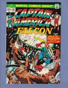 Captain America #167 VG/FN Marvel 1973