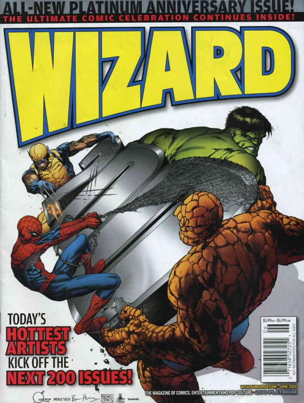Wizard: The Comics Magazine #200.2B VF/NM Wizard - save on shipping - details in