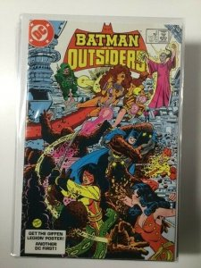 Batman and the Outsiders #5 (1986) HPA