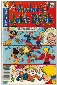 ARCHIES JOKE BOOK (1954-1982)247 VF-NM Aug. 1978 COMICS BOOK