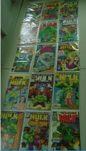 Hulk Specials and Annuals  Lot - see pics - 29 books - avg 8.0 - years vary