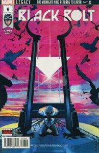 Black Bolt #8 VF/NM; Marvel   save on shipping - details inside