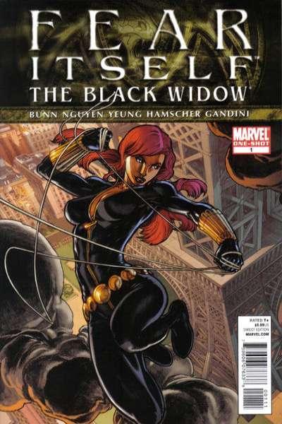Fear Itself Black Widow #1, NM (Stock photo)