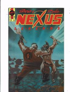 Nexus #54 FN 1989 Stock Image