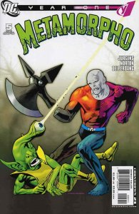 Metamorpho: Year One #5 VF/NM; DC | save on shipping - details inside