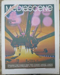STERANKO'S MEDIASCENE #32 Filmation's Flash Gordon tv series! VF-NM