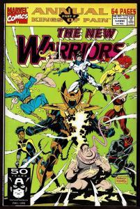 New Warriors Annual #1 (1991, Marvel) 7.5 VF-
