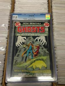 Ghosts 10 CGC 7.5 (Dec. 1972)