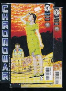 SET of 2- CHRONOWAR #3 & #4 VF/NM (SIC327)