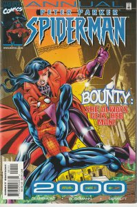 Peter Parker Spiderman Annual 2000 Fantastic Four's Bounty and The Black...