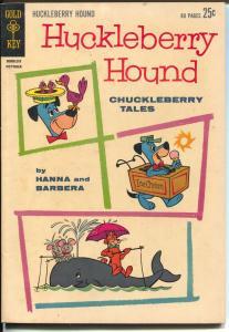 Huckleberry Hound Chuckleberry Tales #18 1962-1st Gold Key-Hanna-Barbera-FN+