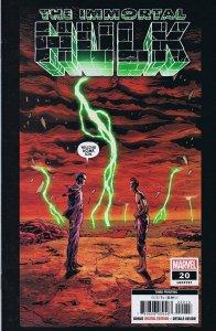 Immortal Hulk #20 3rd Print 2019 Marvel Comics