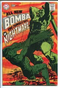 BOMBA THE JUNGLE BOY #7 1968-DC COMICS-DRUGS IN THE WATER ISSUE-vf
