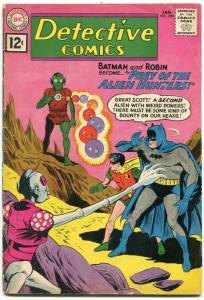 Detective Comics #299 1962- Batman- DC Silver Age- Alien Hunters VG