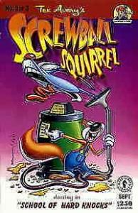 Screwball Squirrel #3 VF/NM; Dark Horse | save on shipping - details inside