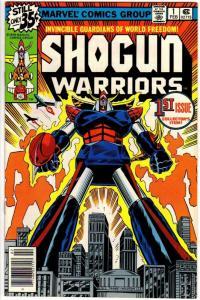 SHOGUN WARRIORS 1 FN Feb. 1979