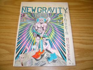 New Gravity #2 albert einstein monster - gilbert shelton freak brothers 1970