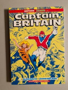 Captain Britain TPB SC By Alan Davis and Jamie Delano (1991 2nd Printing)