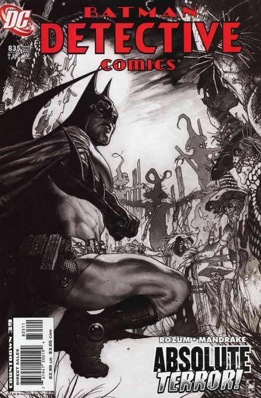 Detective Comics #835 VF/NM DC - save on shipping - details inside