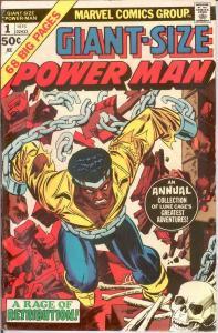 LUKE CAGE/POWER MAN GS  1 FINE 1975 COMICS BOOK
