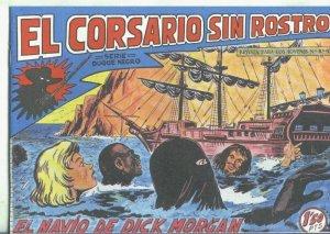 El Corsario sin Rostro, facsimil numero 19: El navio de Dick Morgan