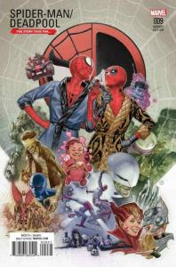 SPIDER-MAN DEADPOOL #9, NM, Variant, 2016, Bromantic, more in store