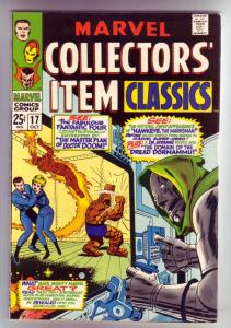 Marvel Collectors' Item #17 (Oct-68) VF/NM High-Grade Fantastic Four, Mr. Fan...