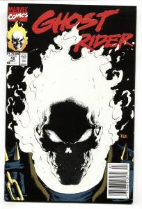 GHOST RIDER #15--1991-Glow in the Dark-Newsstand variant