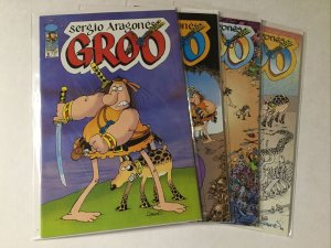 Groo 1-4 1 2 3 4 Lot Set Run Nm Near Mint Image Comics