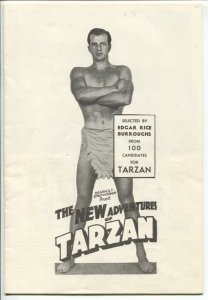 New Adventures of Tarzan and Master of Adventure 1970's-2 pamphlets-Life of ERB-