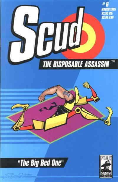 Scud: The Disposable Assassin #6 VF; Fireman | save on shipping - details inside