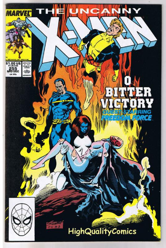 X-MEN #255, NM-, Wolverine, Chris Claremont, Uncanny, more in store