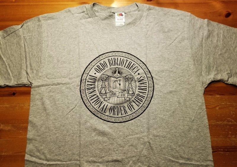 Rex Libris T-Shirt L NOS w/ Tags  International Order of Librarians