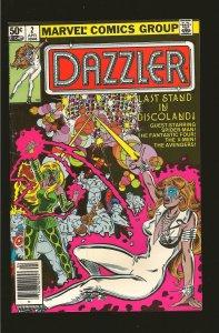 Marvel Comics Dazzler #2 (1981)