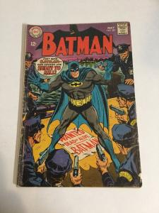 Batman 201 Vg Very Good 4.0 Silver Age