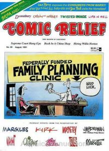 Comic Relief (magazine) #26 FN; Page One | save on shipping - details inside