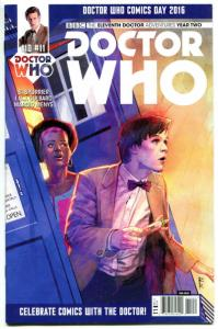 DOCTOR WHO #11 D, NM, 11th, Tardis, 2015, Titan, 1st, more DW in store, Sci-fi