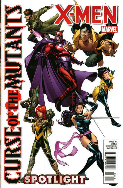 X-Men: Curse of the Mutants Spotlight #1 FN; Marvel | save on shipping - details