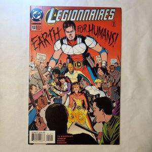 Legionnaires 12 Very Fine Cover by Chris Sprouse