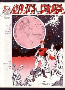 NUCLEUS FANZINE #3/4-BURROUGHS-KIRBY-MARK WHEATLEY VF