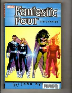 Fantastic Four Visionaries V6 By John Byrne Marvel Comics TPB Graphic Novel J380