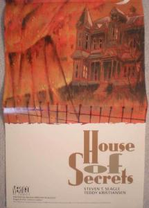 The HOUSE of SECRETS Promo poster, Vertigo, 1996, Unused, more in our store