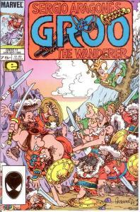 GROO 11 VF-NM Jan. 1986 SERGIO ARAGONES COMICS BOOK