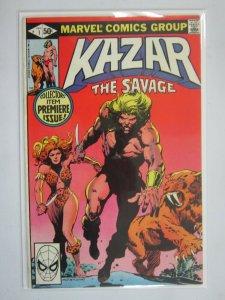Ka-Zar the Savage #1 Direct edition 7.0 FN VF (1981)