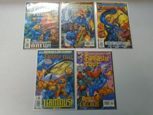 Fantastic Four run #1-10 8.0 VF (1998 3rd Series)