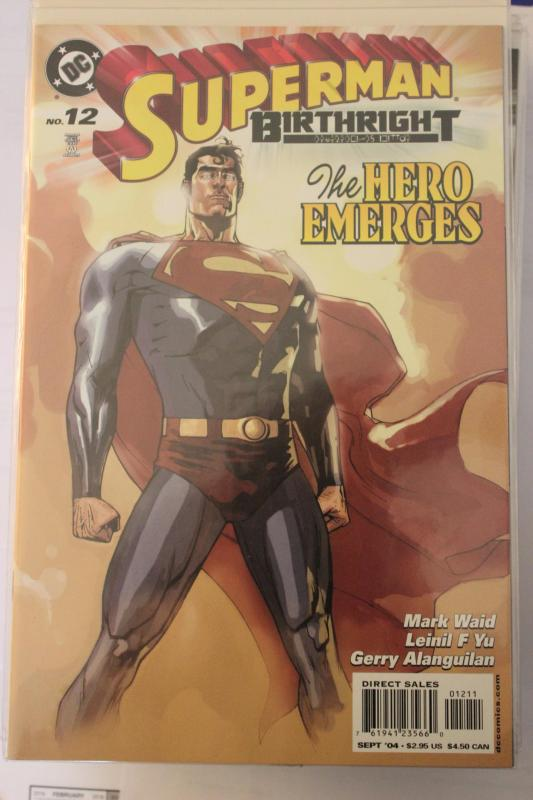 Superman Birthright 12 9-4-nm