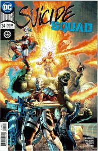 Suicide Squad #34 (2016 v4) Harley Quinn Whilce Portacio Variant NM